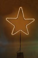 Leuchtstern mit LED Schlauch