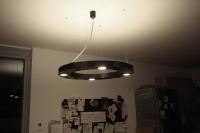 runde Decken Leuchte mit Miniatur Einbau Leuchtstofflampen
