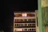 Ich liebe Dich! Projektion Eurer SMS in 40 Meter Höhe zum Light Night Shopping in Hildesheim