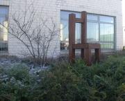 Living Chair aus Stahl von Peter Schmitz