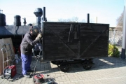 7.04.2010 Arbeiten an den Hängern
