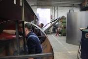 8.1.10 Heute haben wir die Arbeiten am Wasserkessel begonnen