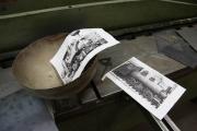 13.01.2010 Arbeiten an der Verkleidung des Wasserkessels