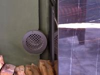 Lüftungsgitter als Einzelanfertigung für einen Kamin