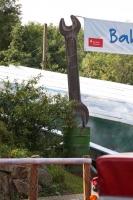 Maulschlüssel als Bannerträger im Mullewapp