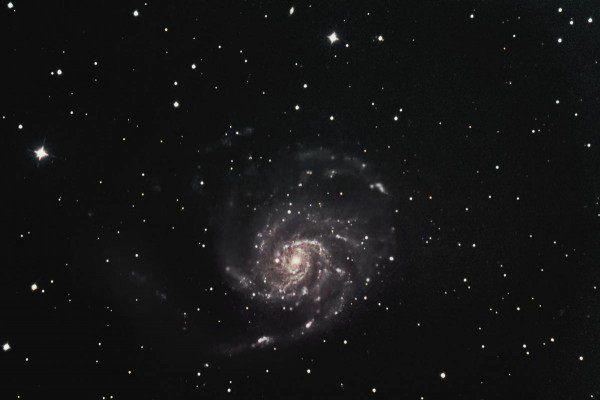 Messier 101, die Feuerrad Galaxie