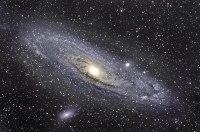Die Andromeda Galaxie am 28.10.14