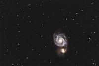 M51, die Whirlpoolgalaxie