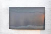 Magnetpinnwand aus 3 mm, verzundertem Stahlblech. Unsichtbare Befestigung