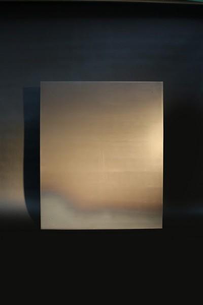 Magnetpinnwand aus 3mm Stahl, sichtbar befestigt