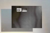 Magnet Pinnwand aus verzundertem Stahl