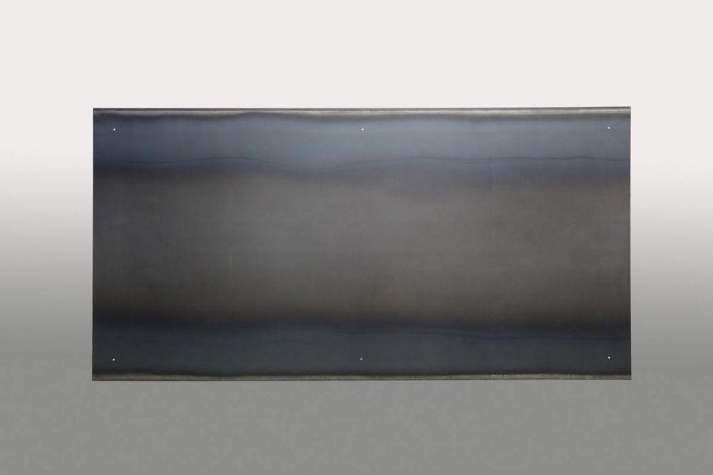 plakative magnetpinwand aus stahlblech. Black Bedroom Furniture Sets. Home Design Ideas