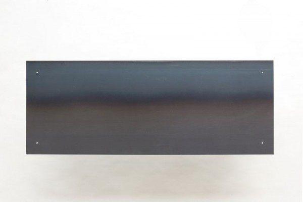 Magnetpinnwand aus 3 mm Stahlblech sichtbar geschraubt