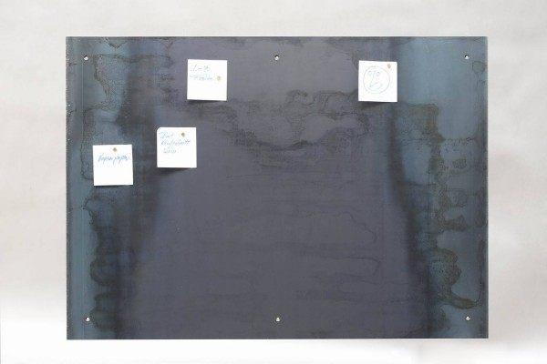 Magnet Pinnwand, sichtbar geschraubt
