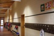 Magnetleisten in Bleistiftform  für die Grundschule Itzum in Hildesheim, 30x3 mm, 1 Meter