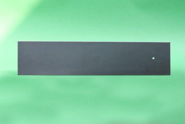 Schwarze Magnetpinnwand aus Stahl