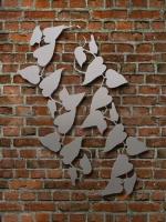 Magnetpinnwand aus Stahl oder Edelstahl als Efeu Ranke