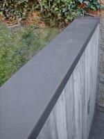 Mauerabdeckung aus Stahl