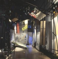 Messestand auf der Cebit für die Weltausstellung EXPO2000 in Hannover