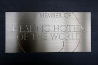 Healing of the World - Schild aus Edelstahl