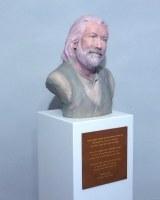 Beschriftungs Tafel für eine Skulptur für Michael Ende