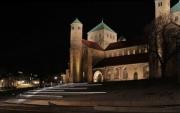 Beleuchtung der Michaeliskirche in Hildesheim