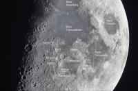 """Mond Detail am 20.12.12 mit einer 2 x Barlow Linse am 16"""" Orion ODK"""
