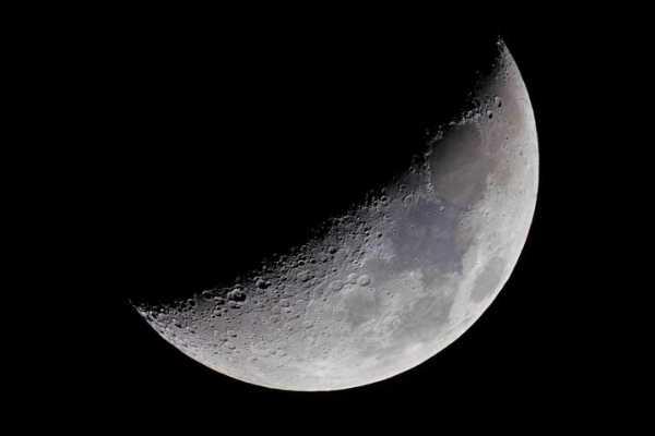Der Mond am 22.2.2010