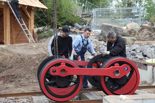 3.5.10 Montage der Rädersätze