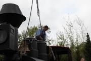 3.5.10 Montage des Lokgehäuses auf die Radsätze