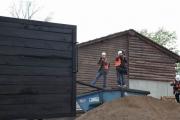 3.5.10 Abladen  der Lok vom Tieflader im Zoo Hannover