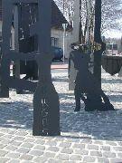 Nachtwächterskulpturen in Oberhausen Holten - 2001