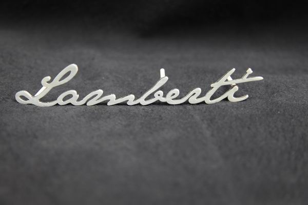 Namenszug aus 2mm Edelstahl gelasert