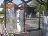 Vogelschutz - Folienplots aus Edge Folie für einen Windschutz im Stadtbad Peine