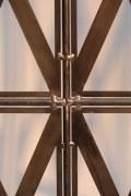 Paravent aus Stahl