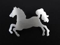 Pferd aus Edelstahl - Das Super Pferd