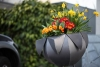Pflanzgefäß aus feuerverzinktem, lackiertem Stahlblech