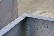 2 Hochbeete aus Corten Stahl