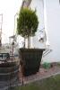 Pflanztrog aus 3 mm Stahlblech geschweißt