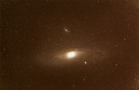 erste gestackte Aufnahme von M31 von Malte Janßen
