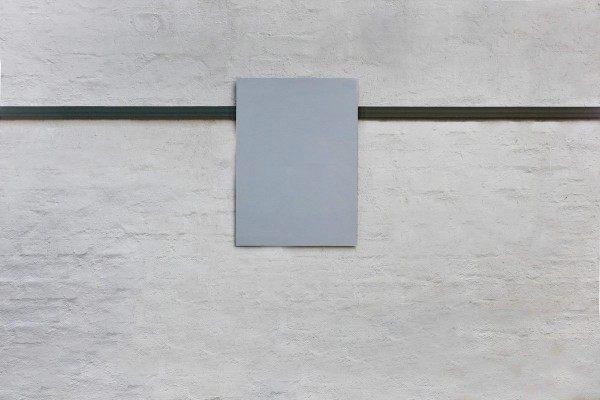 Magnetpinnwand aus Eisen mit einer Whiteboard Tafel