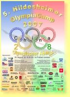 Metall & Gestaltung als Sponsor vom Olympiacamp 2007, 2008, 2009 in Hildesheim