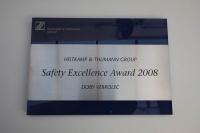 Awards aus Acrylglas und Edelstahl
