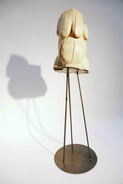 Stahl Sockel für eine Skulptur