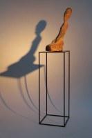 Galeriesockel für Objekte und Skulturen aus 10 mm Vierkanteisen