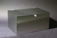 Post Box oder Briefkasten aus Edelstahl