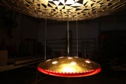 astrein! 8 Stück dieser Leuchter werden einen Ballsaal in einem Hotel in Berlin schmücken