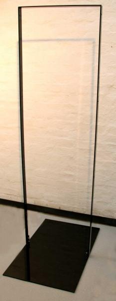 Hochglanz lackierter Rahmen zur Aufnahme eines Displays