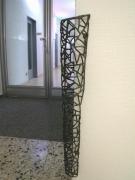 Wandschutz aus Draht