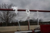 Rankdrache aus 10 mm Stahlblech und Rundeisen